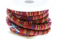 TexCord 6.5mm, red colors per Meter