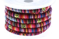 TexCord 6.5mm, pink red per Meter
